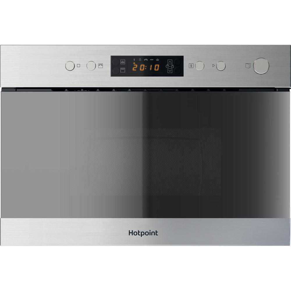 Hotpoint Microwave Built-in MN 314 IX H Inox Electronic 22 MW+Grill function 750 Frontal