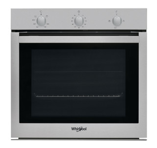 Whirlpool built in gas oven: inox color - OSA N3G3F IX