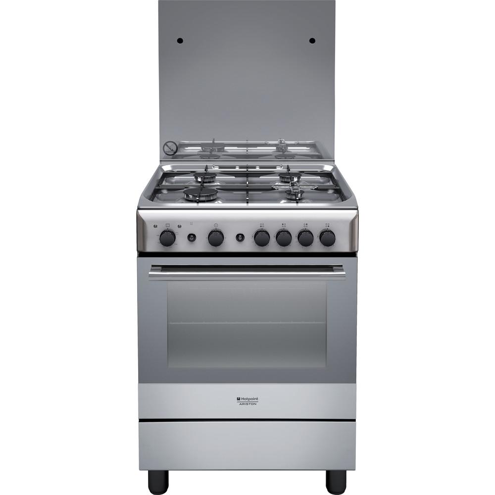 Hotpoint_Ariston Cucina con forno a doppia cavità H6GG1F (X) IT Inox Frontal