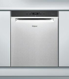 Whirlpool-opvaskemaskine: inox-farve, fuld størrelse - WUC 3T123 PF X