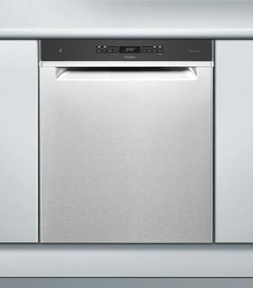 Whirlpool-opvaskemaskine: inox-farve, fuld størrelse - WUC 3O33 PL X