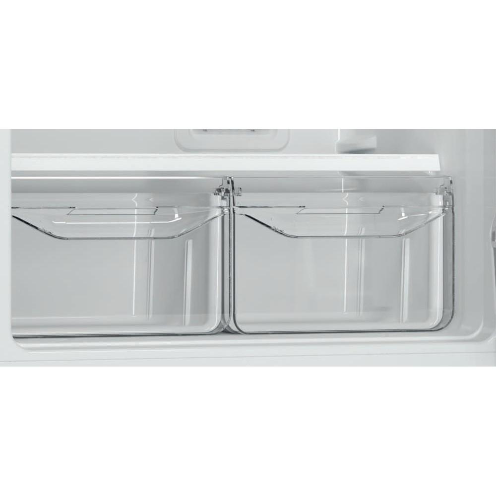 Indesit Холодильник с морозильной камерой Отдельностоящий DF 5180 E Розово-белый 2 doors Drawer