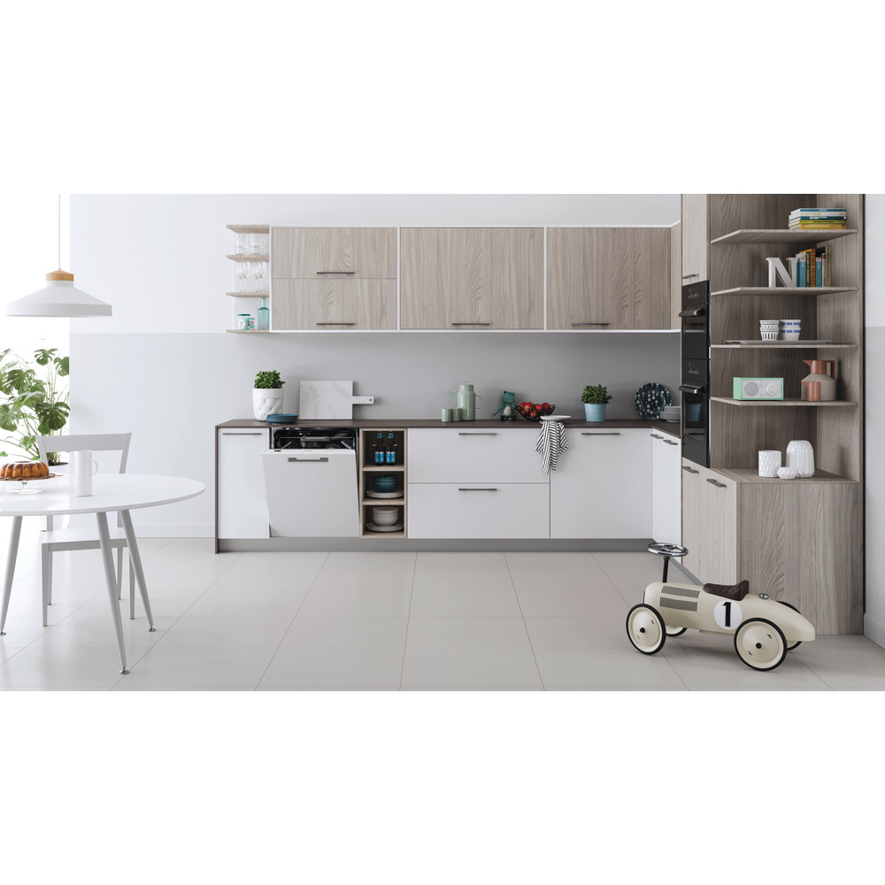 Indesit Πλυντήριο πιάτων Εντοιχιζόμενο DIO 3C24 AC E Full-integrated Ε Lifestyle frontal