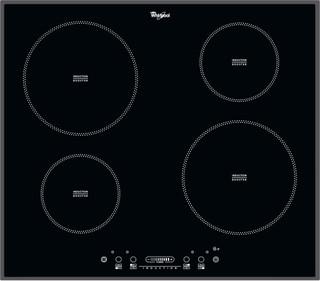 Placa de indução e vitrocerâmica da Whirlpool - ACM 806/BA