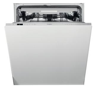 Съдомиялна за вграждане Whirlpool: сребрист цвят, стандартен размер - WIC 3C33 PFE