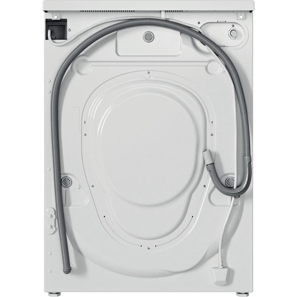 Indesit Lave-linge Pose-libre EWC71252WFR N Blanc Lave-linge frontal E Back / Lateral