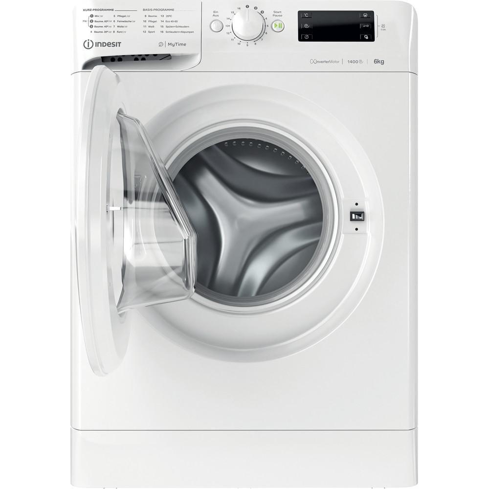 Indesit Waschmaschine Freistehend MTWE 61483E W DE Weiß Frontlader D Frontal open