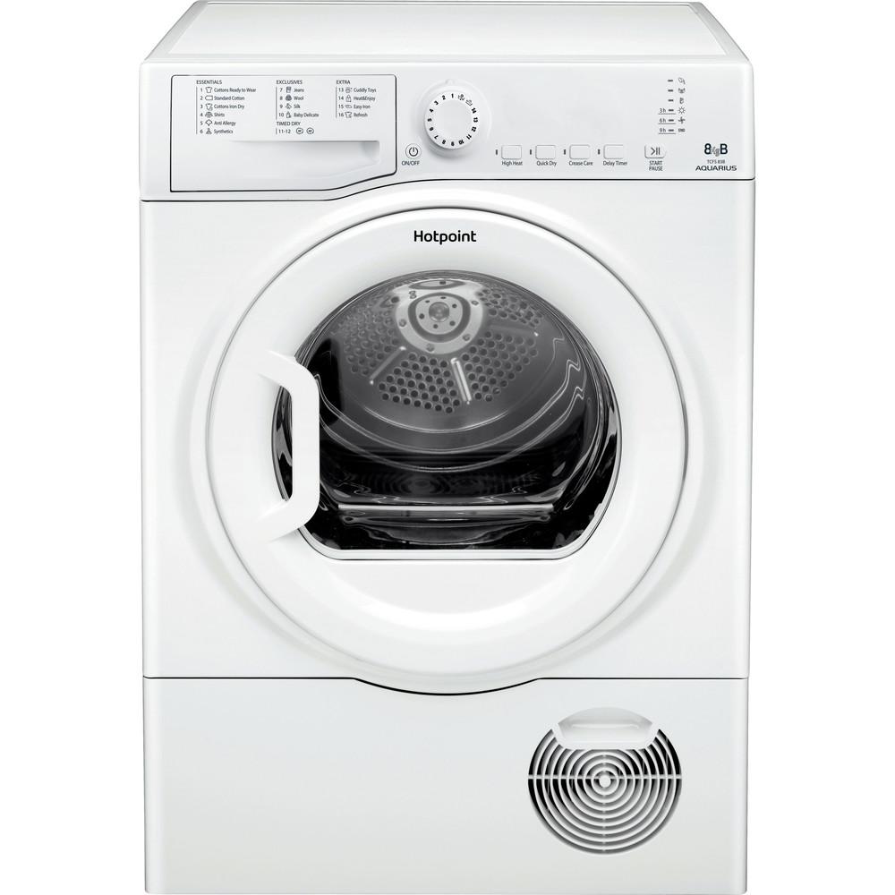 Hotpoint Dryer TCFS 83B GP.9 (UK) White Frontal