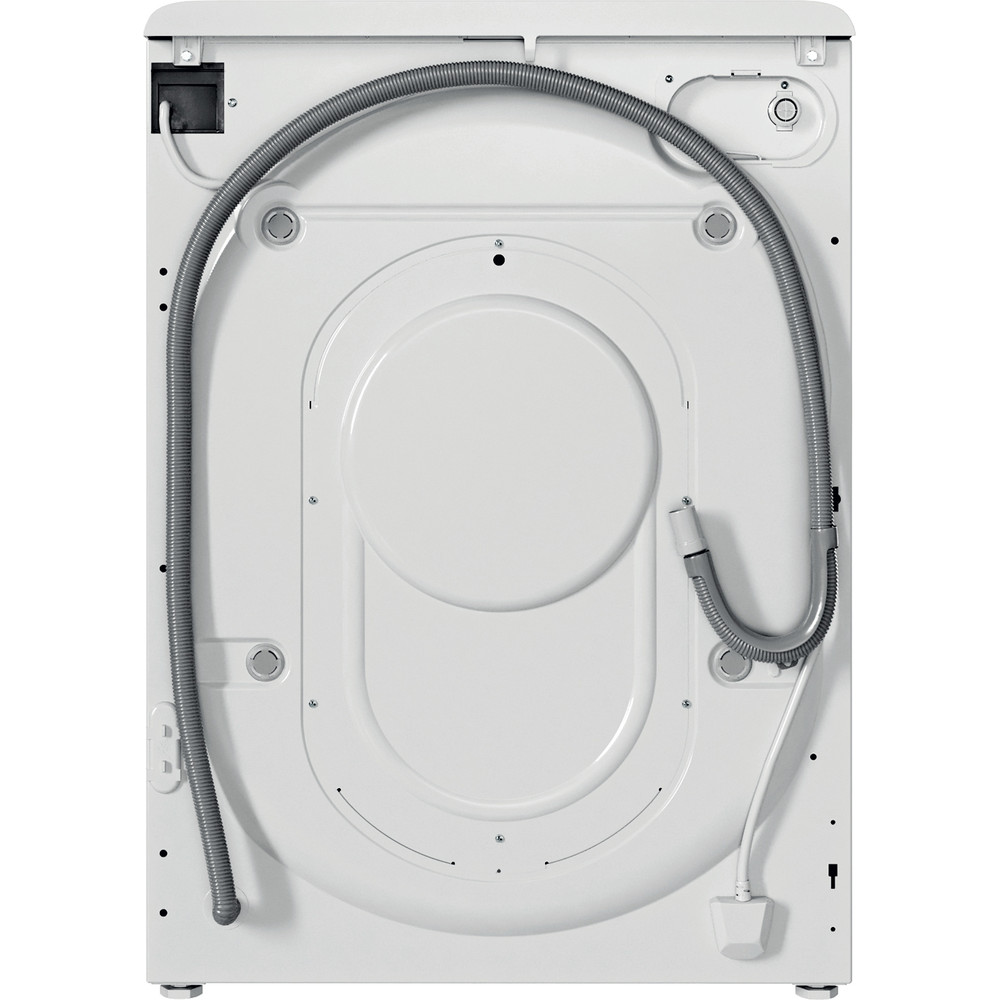 Indesit Washer dryer Free-standing BDE 1071682X W UK N White Front loader Back / Lateral