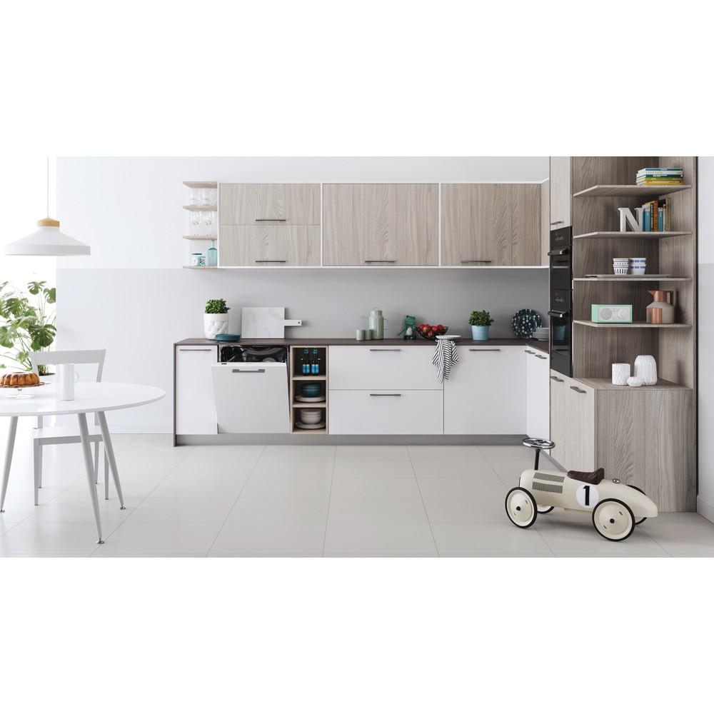 Indesit Lave-vaisselle Encastrable DIC 3B+19 Tout intégrable F Lifestyle frontal