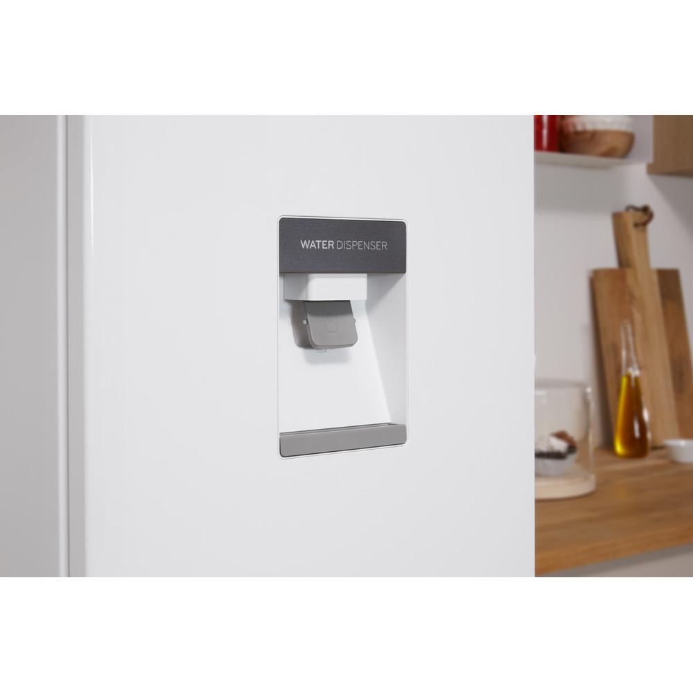 Indesit Kombinacija hladnjaka/zamrzivača Samostojeći LR8 S1 W AQ Bijela 2 doors Lifestyle detail