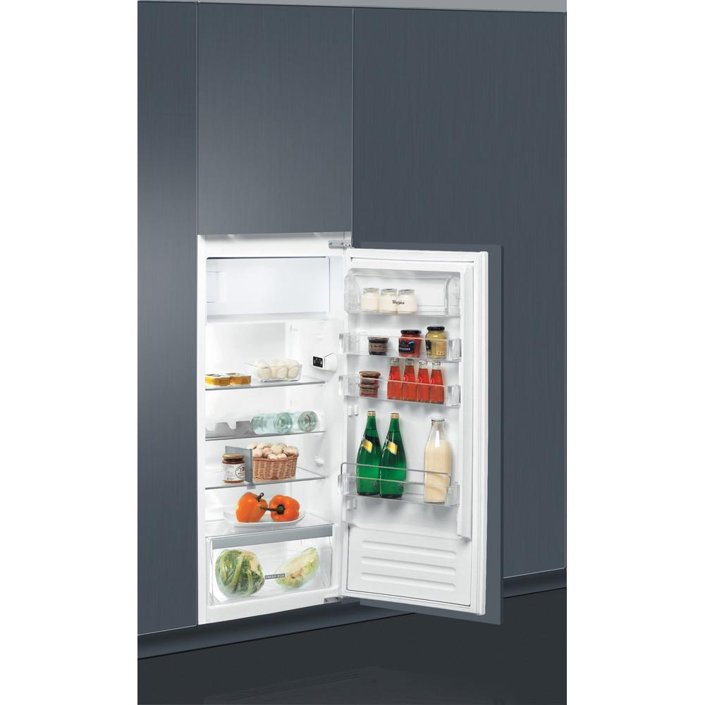 Whirlpool kjøleskap: farge stål - ARG 7191/A+/1