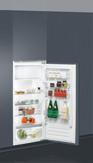 Kalusteisiin sijoitettava Whirlpool jääkaappi: Ruostumaton - ARG 7191/A+/1