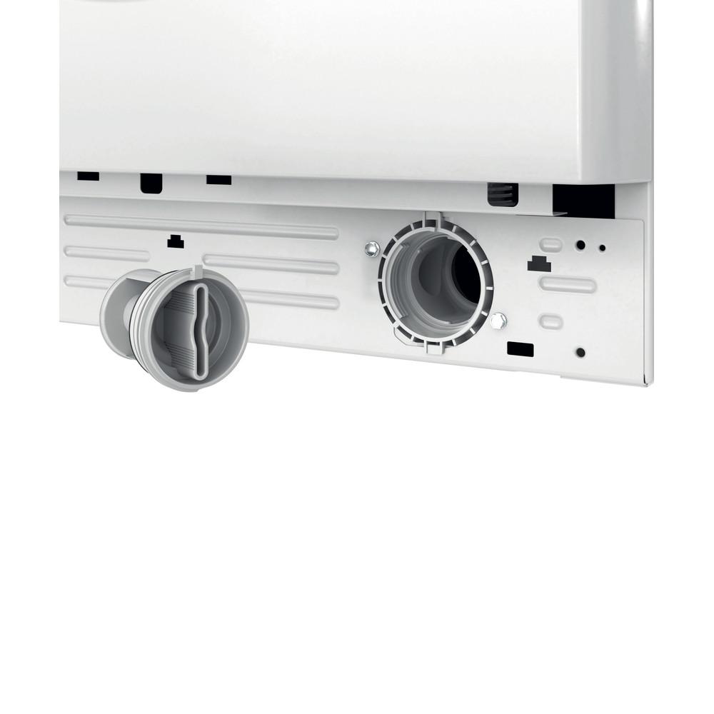 Indesit Kombineret vaskemaskine/tørretumbler Fritstående BDE 861483X WS EU N Hvid Frontbetjent Filter