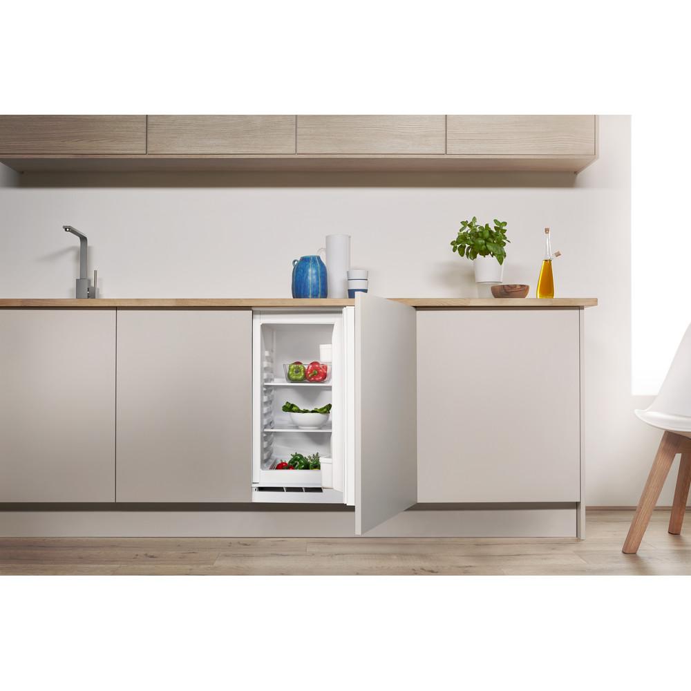 Indesit Refrigerador Encastre IN TSZ 1612 1 Acero Lifestyle frontal open