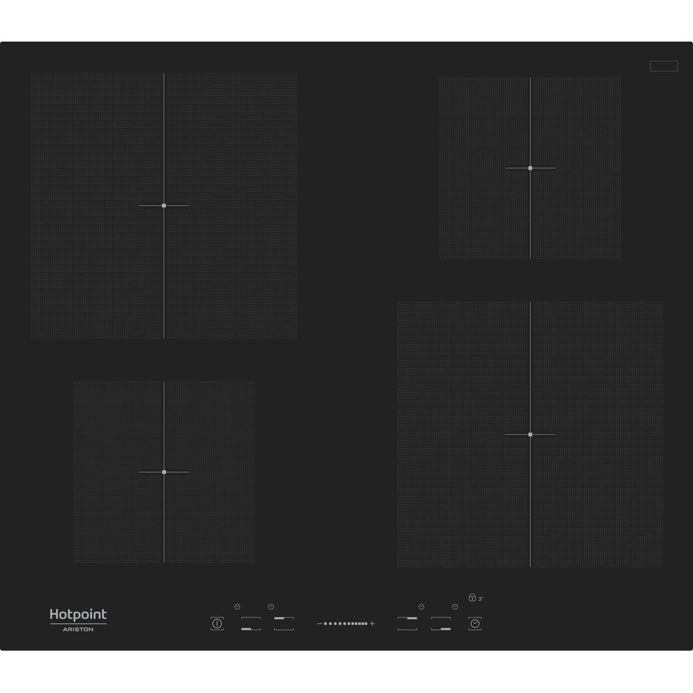 Hotpoint_Ariston Piano cottura KIS 640 B Nero Induction vitroceramic Frontal