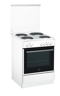 Whirlpool gas freestanding cooker: 60cm - ACMK 6030/WH