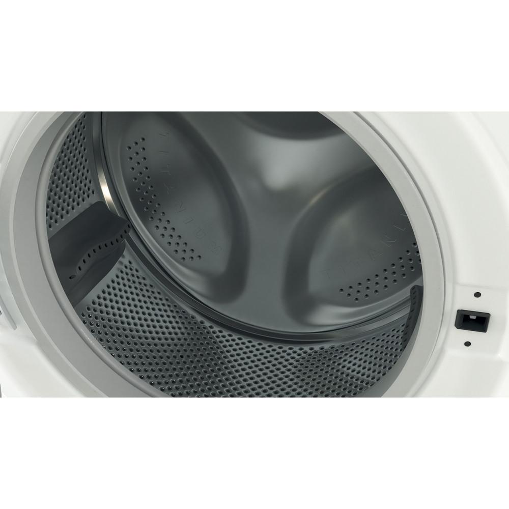 Indesit Lavabiancheria A libera installazione BWSE 71283X W IT N Bianco Carica frontale D Drum