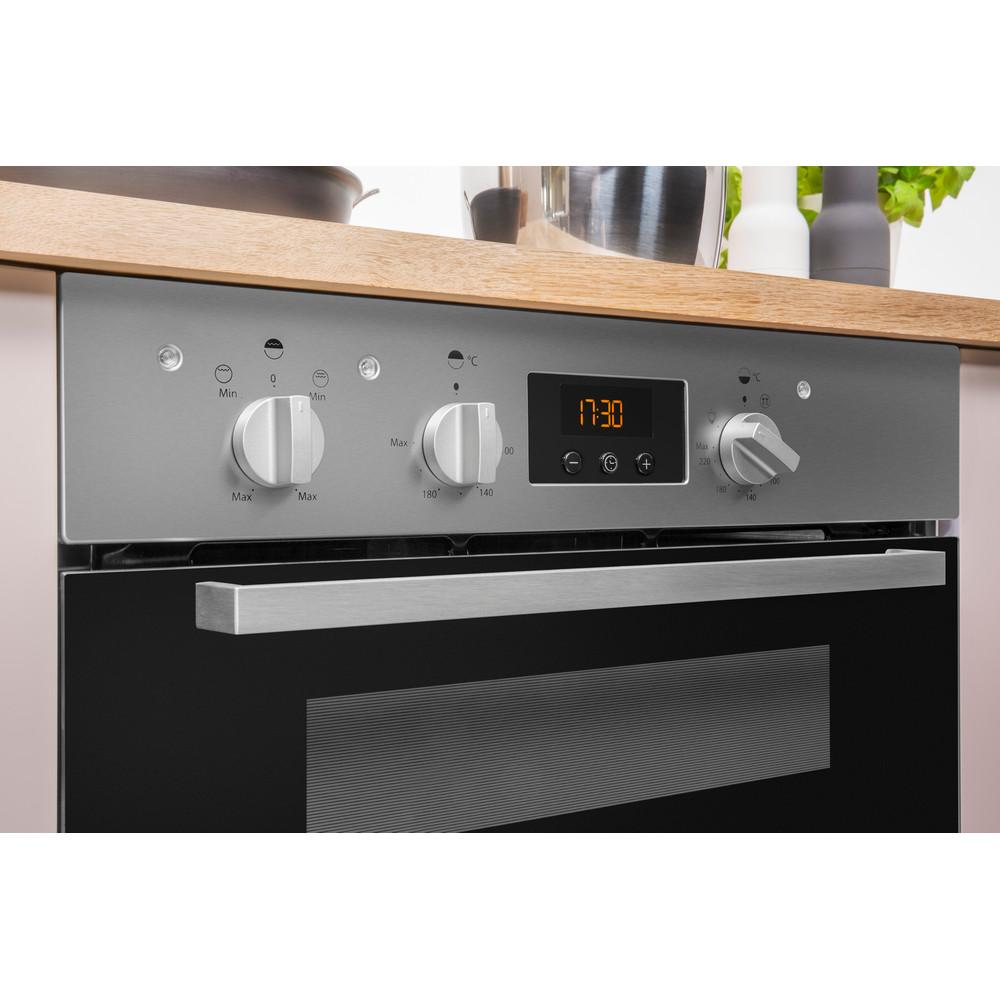 Indesit Double oven IDU 6340 IX Inox B Control panel