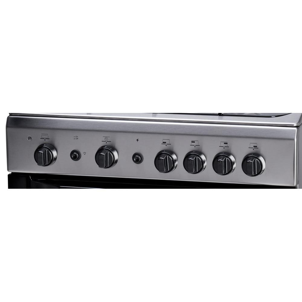 Indesit Готварска печка I6GG1F(X)/I Инокс Control panel