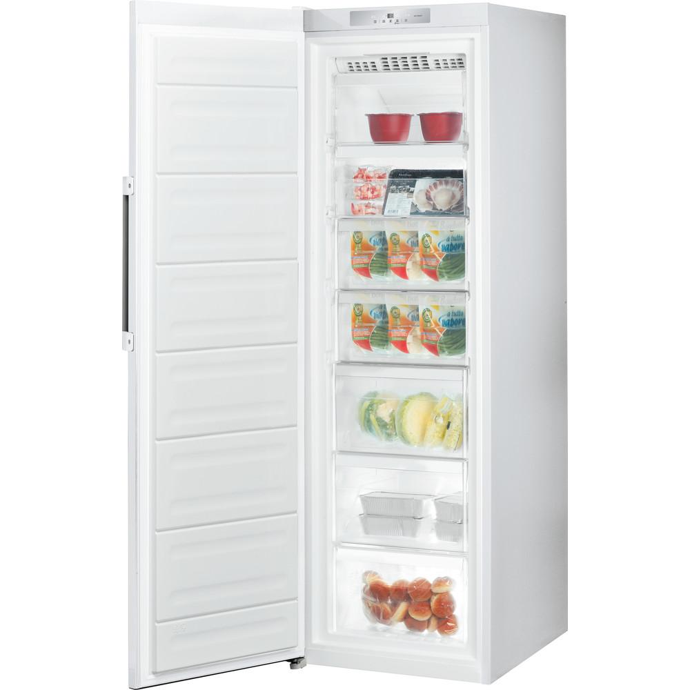Indesit Congelador Libre instalación UI8 F1C W 1 Blanco global Perspective open