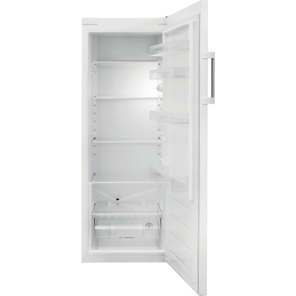 Indesit Ψυγείο Ελεύθερο SI6 1 W Global λευκό Frontal open