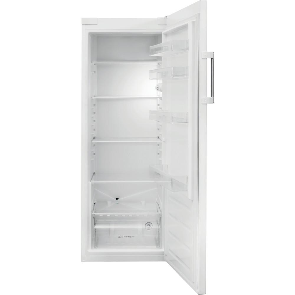 Indesit Réfrigérateur Pose-libre SI6 1 W Blanc Frontal open