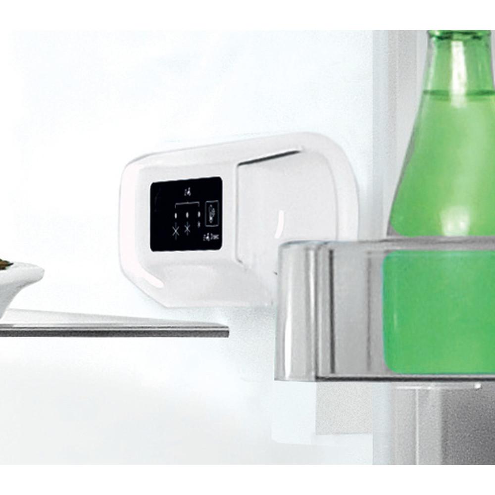 """""""Indesit"""" Šaldytuvo / šaldiklio kombinacija Laisvai pastatoma LI9 S1E W """"Global white"""" 2 doors Lifestyle control panel"""