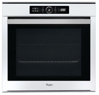 Whirlpool ugradbena električna pećnica: bijela boja, samočišćenje - AKZM 8480 WH