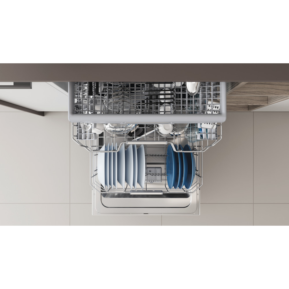 Indesit Umývačka riadu Vstavané DIO 3T131 A FE Full-integrated D Rack