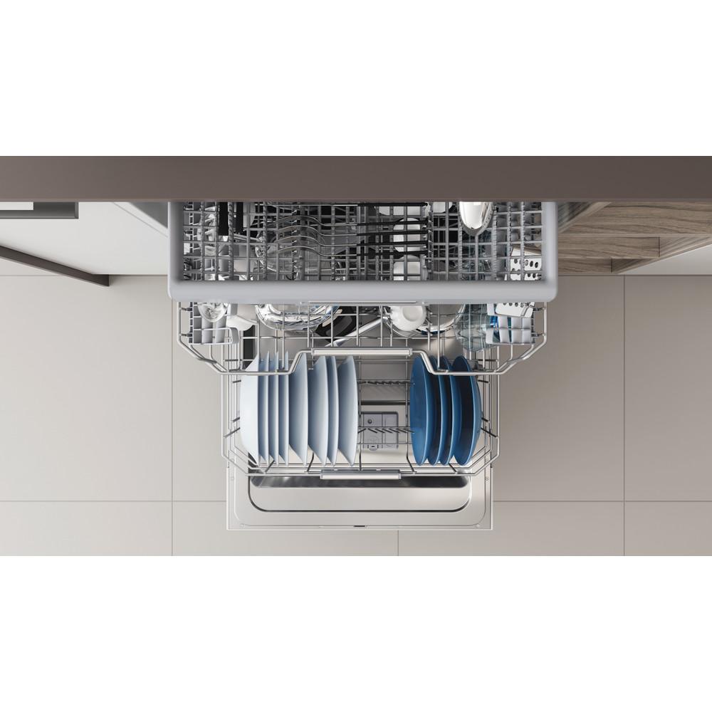 Indesit Vaatwasser Inbouw DIO 3T131 A FE Volledig geïntegreerd D Rack