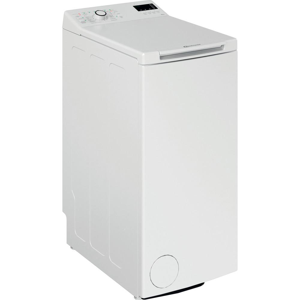 Bauknecht Waschmaschine Standgerät WMT EcoStar 732 Di N Weiss Toplader E Perspective