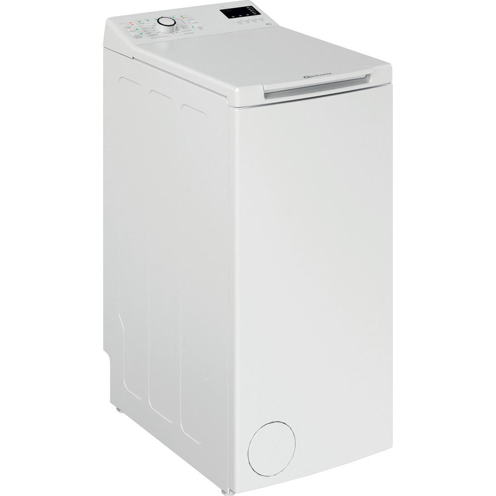 Bauknecht Waschmaschine Standgerät WTL 46212 N Weiss Toplader D Perspective