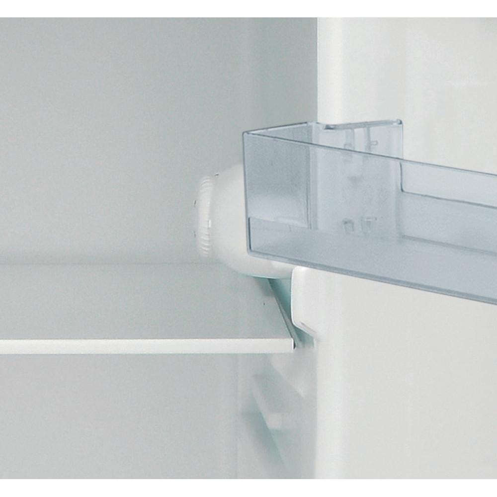 Indesit Combinazione Frigorifero/Congelatore A libera installazione I55TM 4110 X Inox 2 porte Control panel