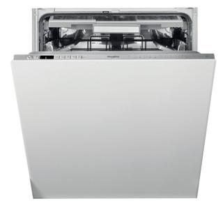 Съдомиялна за вграждане Whirlpool: цвят инокс, пълен размер - WIO 3T133 PLE