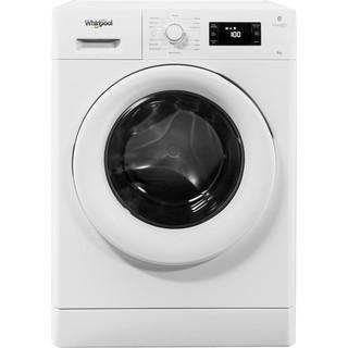 Whirlpool freestanding front loading washing machine: 8kg - FWG81496W UK