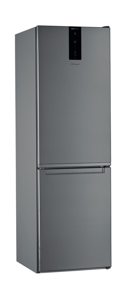 Whirlpool Fridge/freezer combination Samostojeća W7 811O OX Optic Inox 2 vrata Perspective