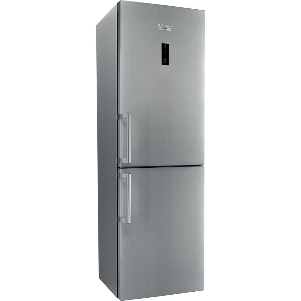 Hotpoint_Ariston Combinație frigider-congelator Neincorporabil XH8 T2O XZH Inox 2 doors Perspective