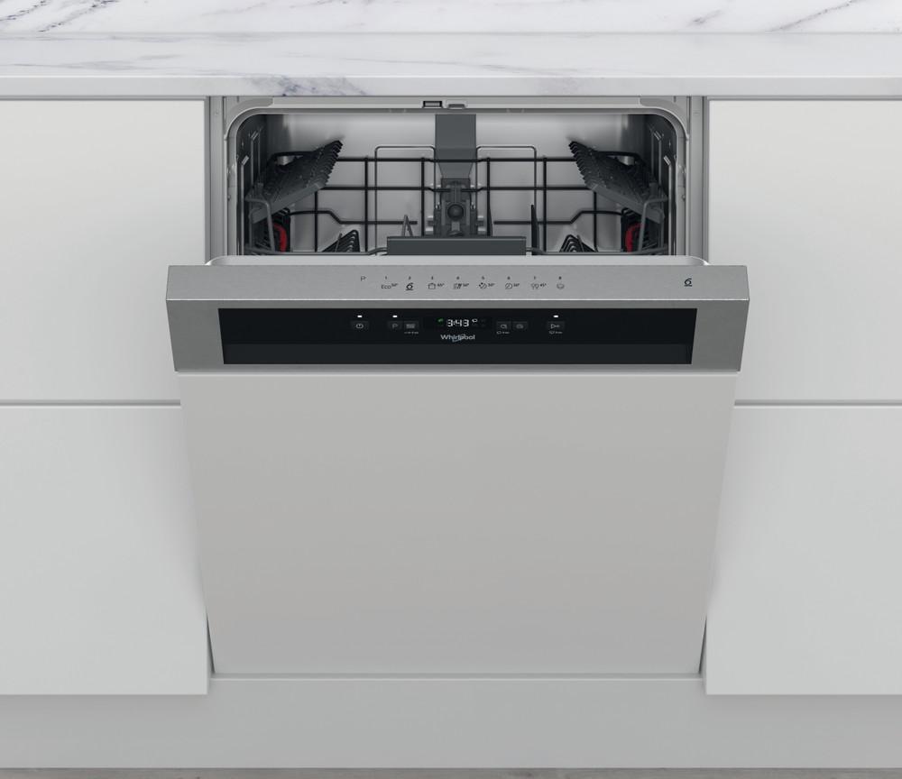 Whirlpool Dishwasher Ugradna WBC 3C26 X Poluintegrisana A++ Frontal