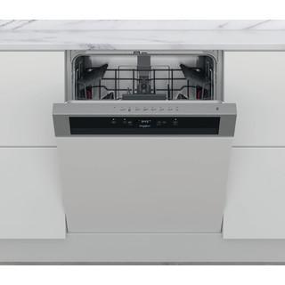 Whirlpool Máquina de lavar loiça Independente WBC 3C26 X Encastre parcial E Frontal