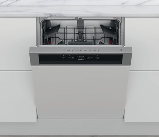 Whirlpool poluugradna mašina za pranje sudova: inox boja, standardne veličine - WBC 3C26 X
