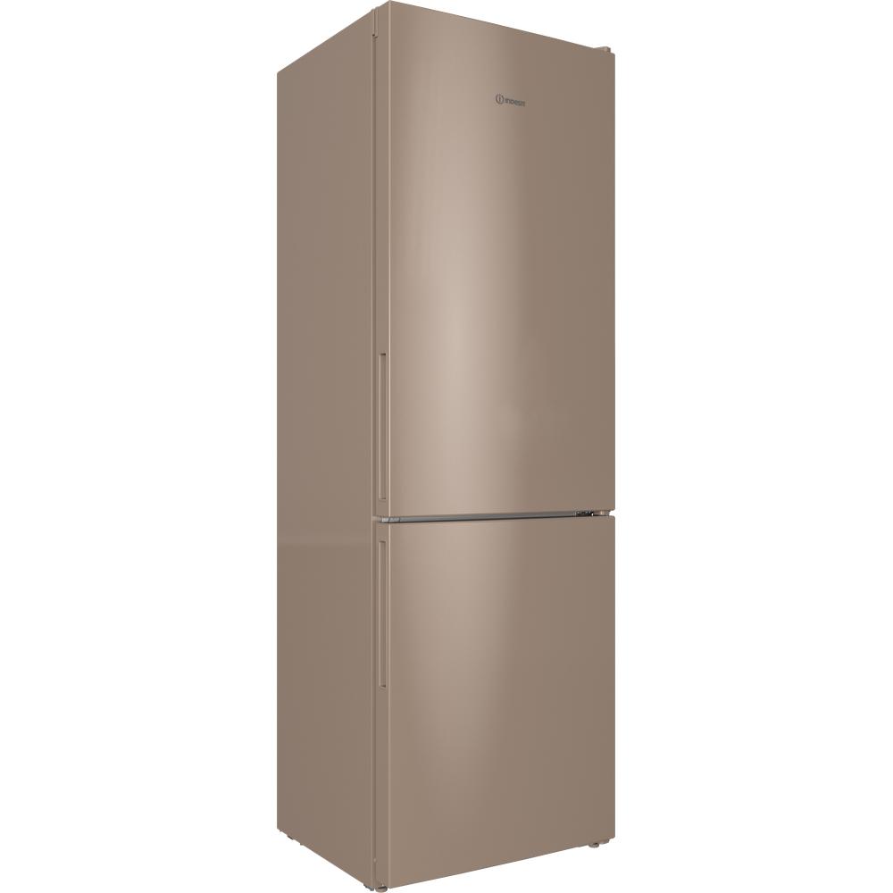 Indesit Холодильник с морозильной камерой Отдельностоящий ITR 4180 E Розово-белый 2 doors Perspective