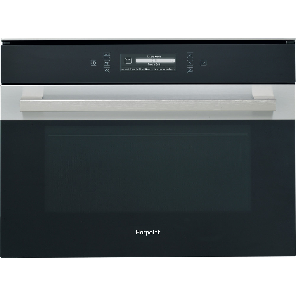 Hotpoint Microwave Built-in MP 996 IX H Stainless steel Electronic 40 MW-Combi 900 Frontal