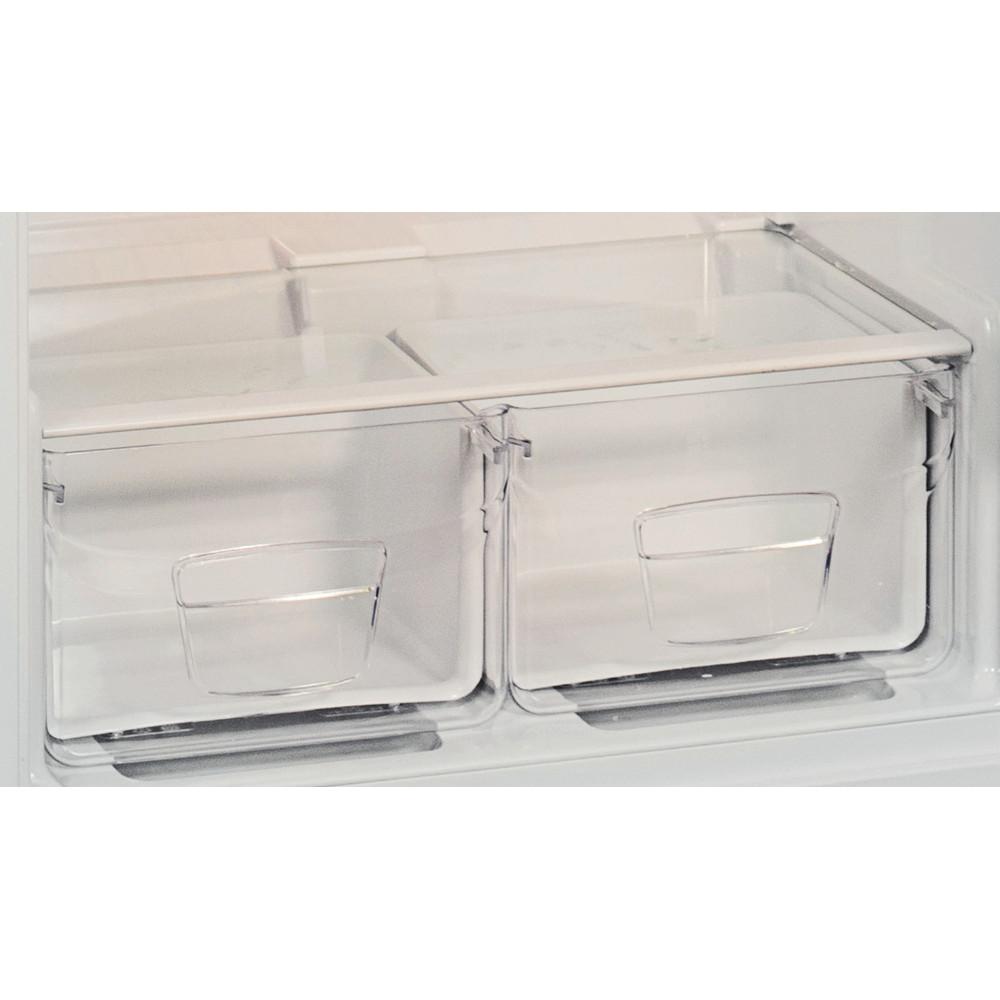 Indesit Холодильник с морозильной камерой Отдельностоящий TIA 14 Белый 2 doors Drawer