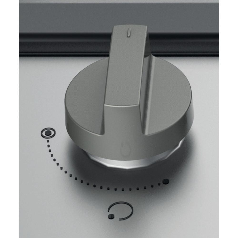 Indesit Piano cottura THP 641 IX/I Inox GAS Control panel