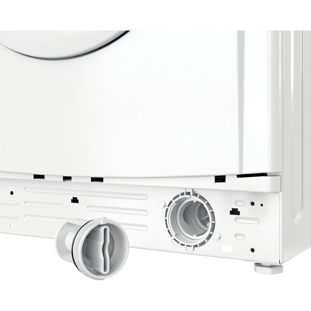 Indesit Waschtrockner Freistehend EWDE 761483 W DE N Weiß Frontlader Filter