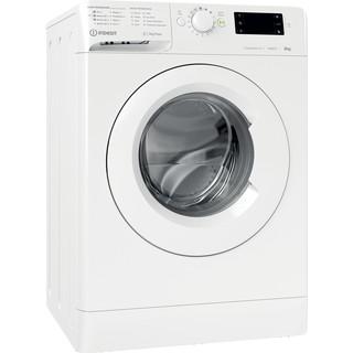Indesit Waschmaschine Freistehend MTWE 61483E W DE Weiß Frontlader D Perspective