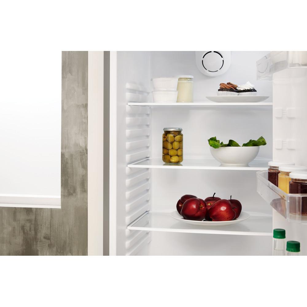 Indesit Combinación de frigorífico / congelador Libre instalación TIHA 17 V Blanco 2 doors Drawer