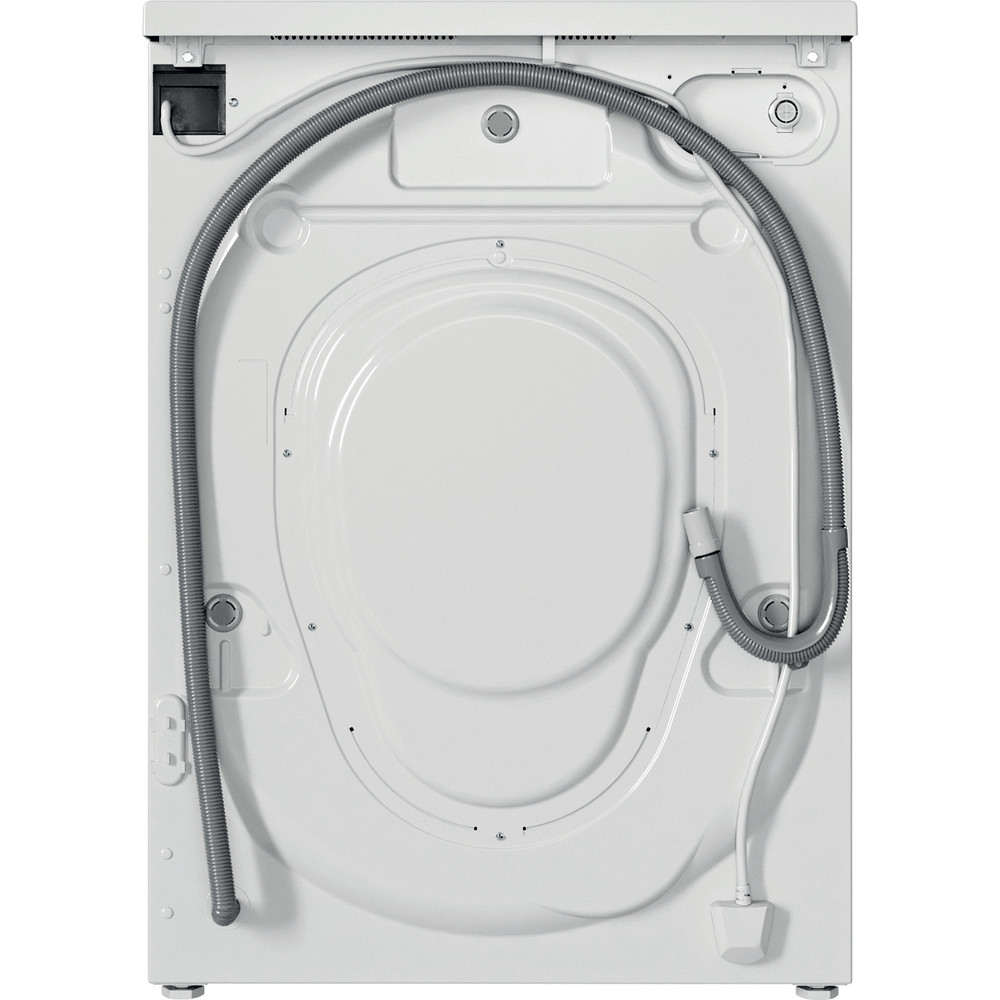 Indesit Lave-linge Pose-libre EWC 81483 W EU N Blanc Frontal D Back / Lateral