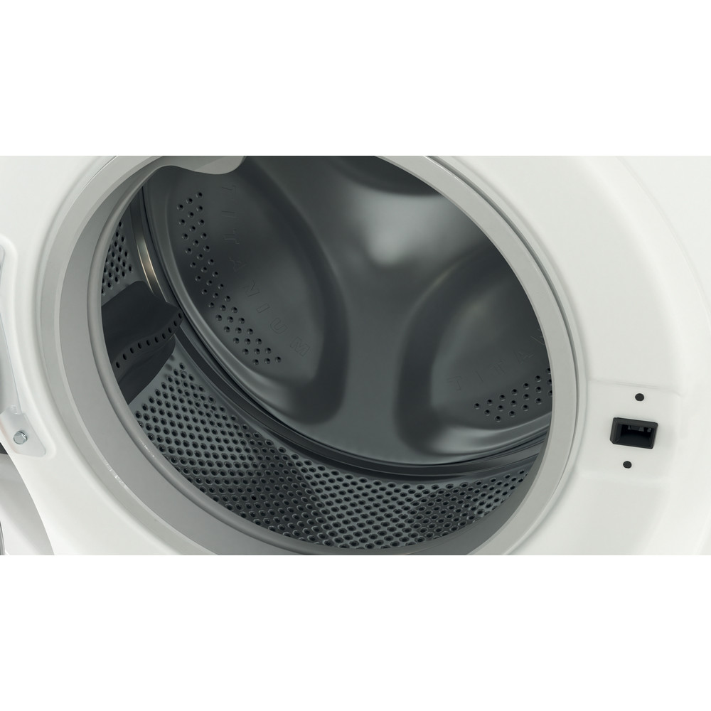 Indesit Pračka Volně stojící BWSA 71251 W EE N Bílá Front loader E Drum